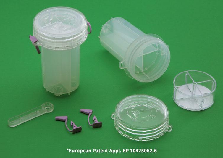 Contenitore raccolta urine antidoping
